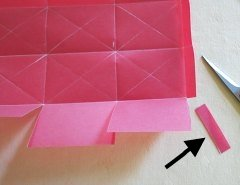 Making Square or Box Shaped Paper Lanterns Step 7