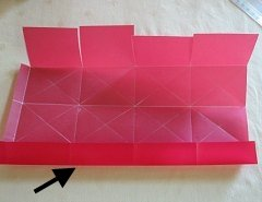 Making Square or Box Shaped Paper Lanterns Step 8