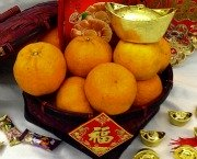 Tangerines for Chinese New Year