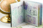 Passport with Visa