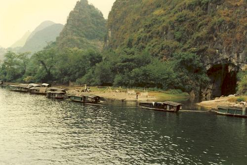 Old China Pictures - Guilin and the Li River in the 80's