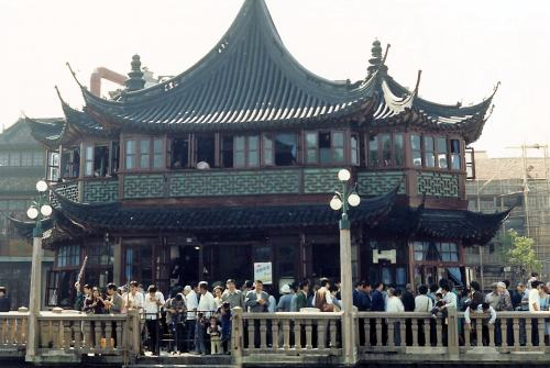 Old Shanghai in pictures - Shanghai in the 80's