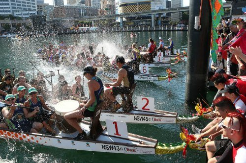 CNY Dragon Boat Races in Sydney