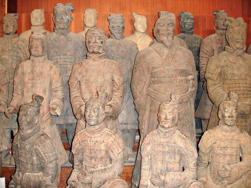 Terracotta Army Replicas