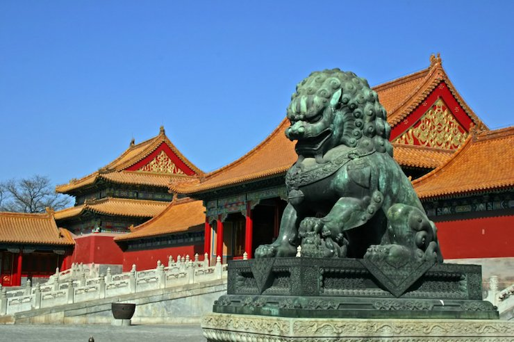 Top 10 Beijing Tourist Attractions: Lions guard the Forbidden City