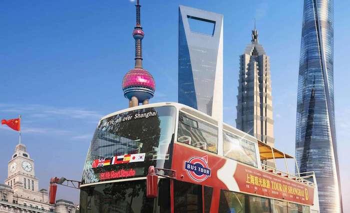 Top 10 Shanghai Things to Do: Hop On Hop Off Bus