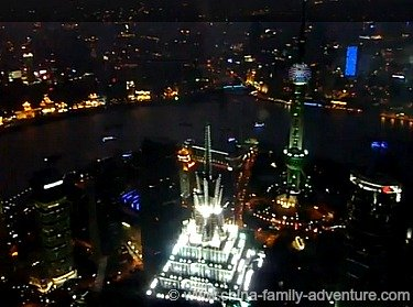 Views from the Shanghai World Financial Center