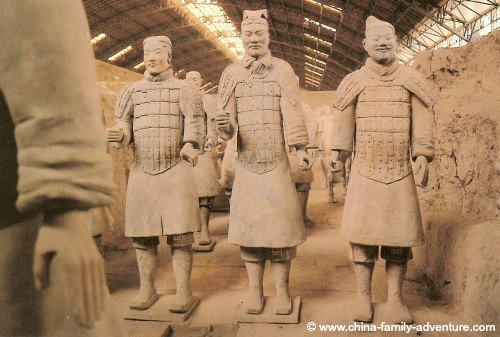 Xian Terracotta Army Soldiers Faces