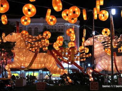 Year of the Horse Displays