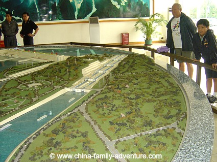 Yangtze River Dam Project Model