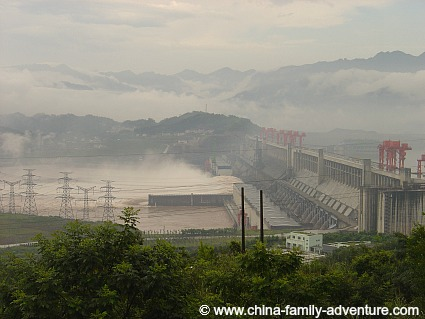 Yangtze River Dam Project