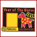Year of the Horse Photo Frame Kit for Kids