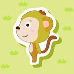 Year of the monkey Baby