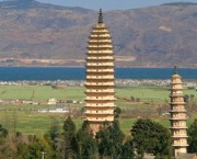 Yunnan Province Attractions: San Ta Three Pagodas