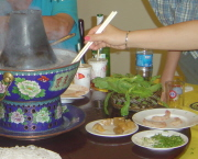 Cooking Chinese Hot Pot
