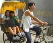 Beijing  Hutongs - Rickshaw Ride