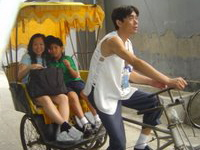 Rickshaw ride through the Beijing Hutongs