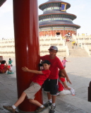 Kids at the Temple of Heaven in Beiing