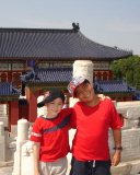 Kids at the Temple of Heaven in Beijing