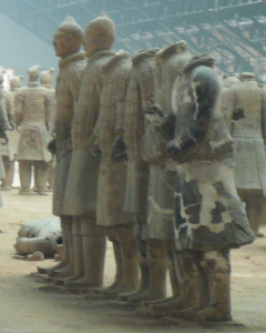 Xian Terracotta Army Reconstruction in Progress