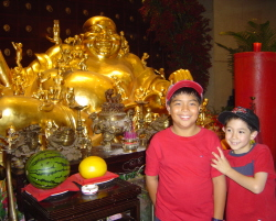 Buddha with Kids