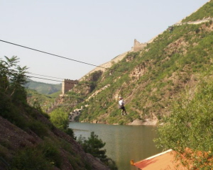 Great Wall at Simatai Zipline