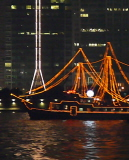 Shanghai Huangpu River Cruise at night