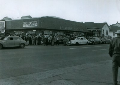 Petaluma Grocery Store in the 1940's