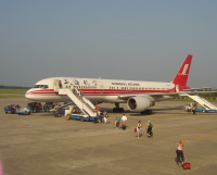 Shanghai Airlines Plane