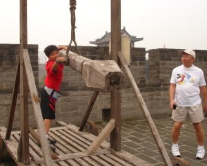 Xian Wall Weapons