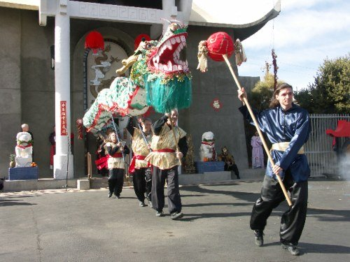 Chinese New Year in Albuquerque - Dragon Parade