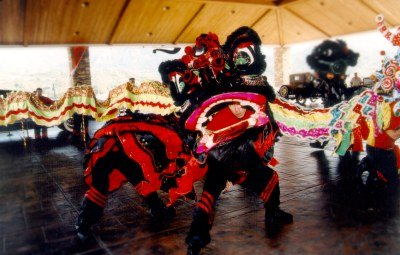 Chinese New Year in San Diego - Lion Dance