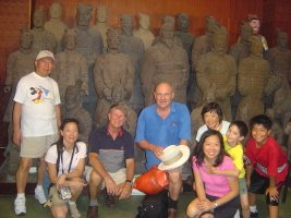 Our group with the Terracotta Army